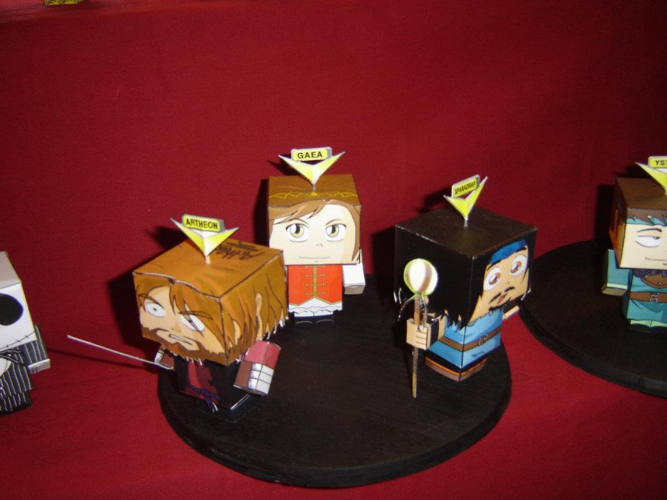 paper craft by Miko Taku