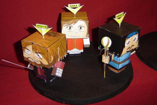 Noob en papercraft !