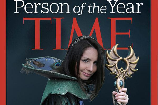 Gaea dans le Time Magazine