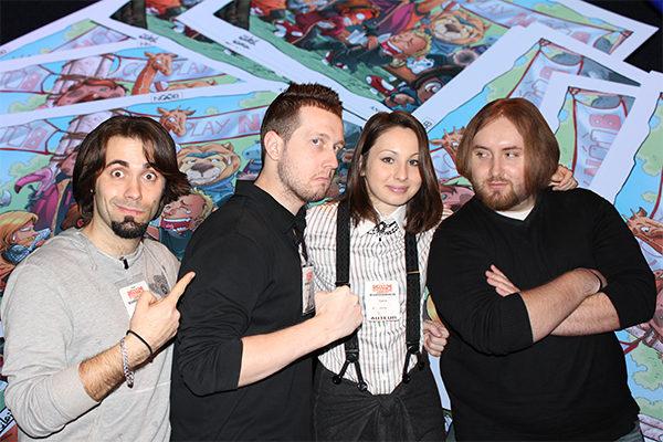 Retour sur notre venue au festival d'Angoulême de 2011