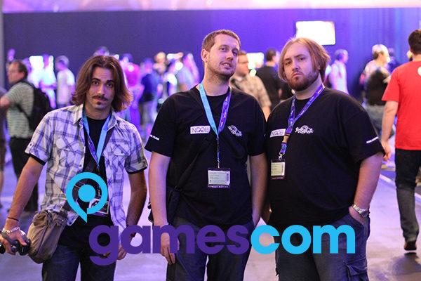 Les Noob à la GamesCom 2010